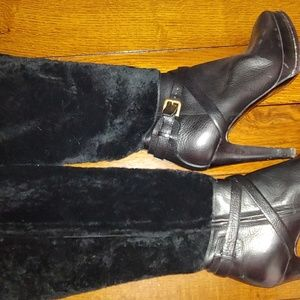 Ralph Lauren  Collection leather boots